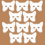 96 fox colour your own design mask pack