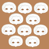 96 Hedgehog plain card decorate your own party masks