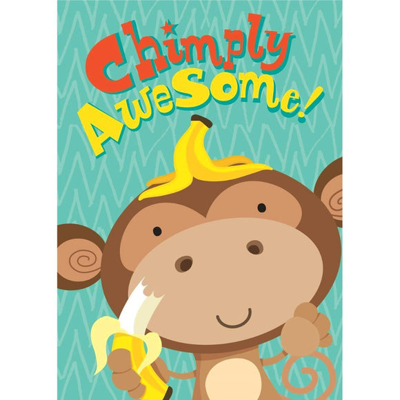 Chimply Awesome Birthday Card