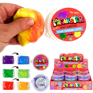 Heat Activated Colour Changing Putty Pocket Money Slime Toy