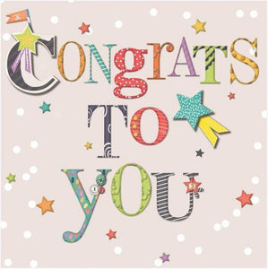 Congrats To You Hallmark Congratulations Greetings Card
