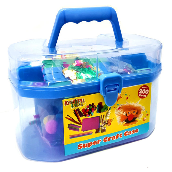 Children's Craft Carry Case Kit