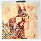 Cyril Squirrel Greetings Card with Gift