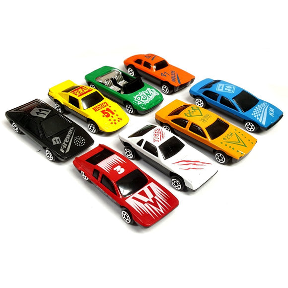 Set of 8 Die Cast Toy Cars