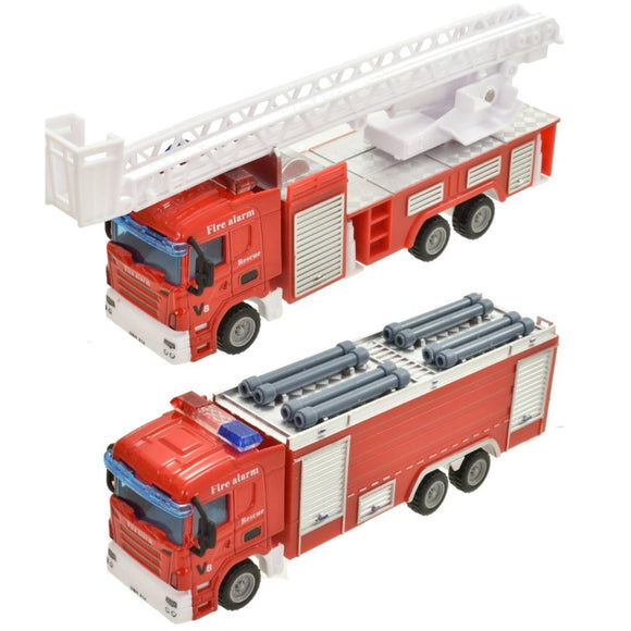 Die Cast Fire Engine Toys Choice of 2 designs