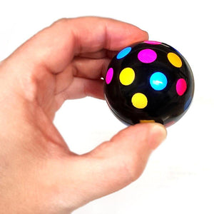 Flashing Disco Glide Gyroscopic Movement Ball Sensory Toy