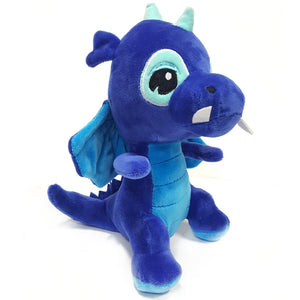 Dragon soft toy suitable for ages 3 years+