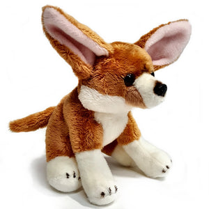 15cm Fennec Fox Cuddly Plush Toy