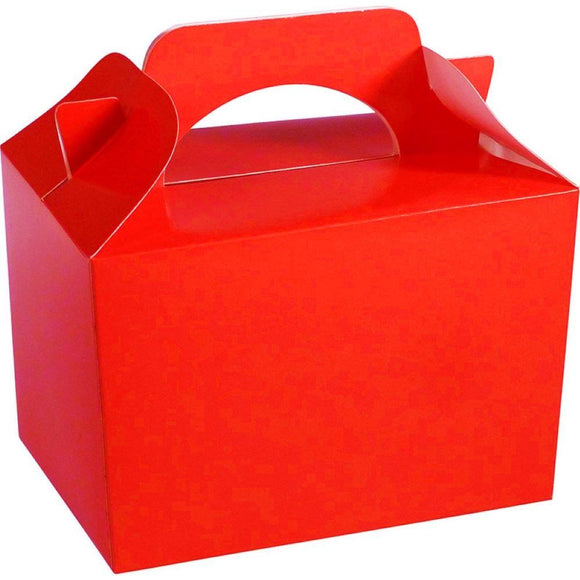 Red Party Food Cake Gift Toy Favor Boxes