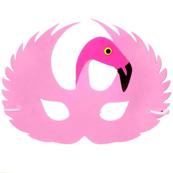 Flamingo Foam Children's Fancy Dress Mask