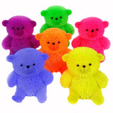Flashing Puffer Teddy Bear Sensory Toy