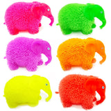 Puffer Flashing Elephant Sensory Toy Party Bag Filler Favor 6 colours