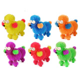 Puffer Poodle Flashing Sensory Pocket Money Toy Party Bag Filler Favor