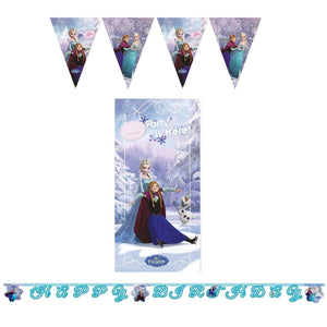 Frozen Birthday Party Banner Decorations