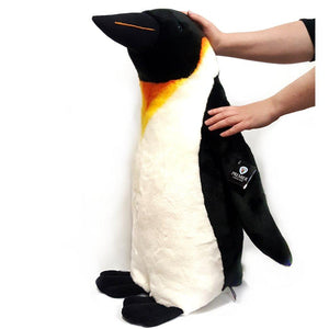 This Giant Penguin cuddly toy is 70cm tall and CE tested for ages 3 years and over.