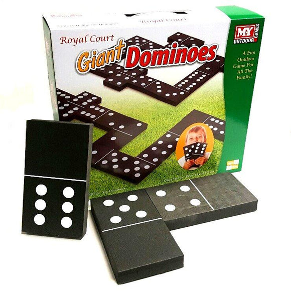 28 Giant Foam Dominoes for indoor and outdoor play