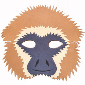 Children's Monkey Face Mask for Fancy Dress