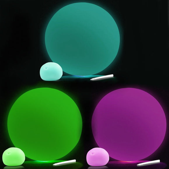 Glow in the Dark Balloon Ball Sensory Pocket Money Toy