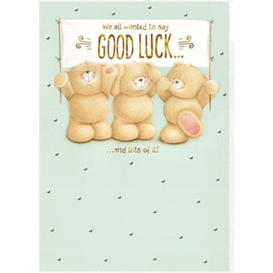 Forever Friends Good Luck Hallmark Greetings Card