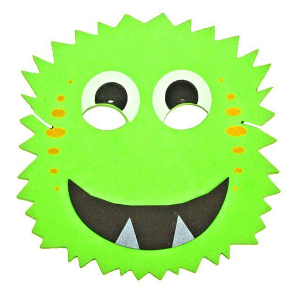 Green Children's Monster Party Mask Great for Halloween