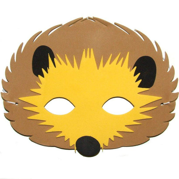 Children's Hedgehog Face Mask for Fancy Dress