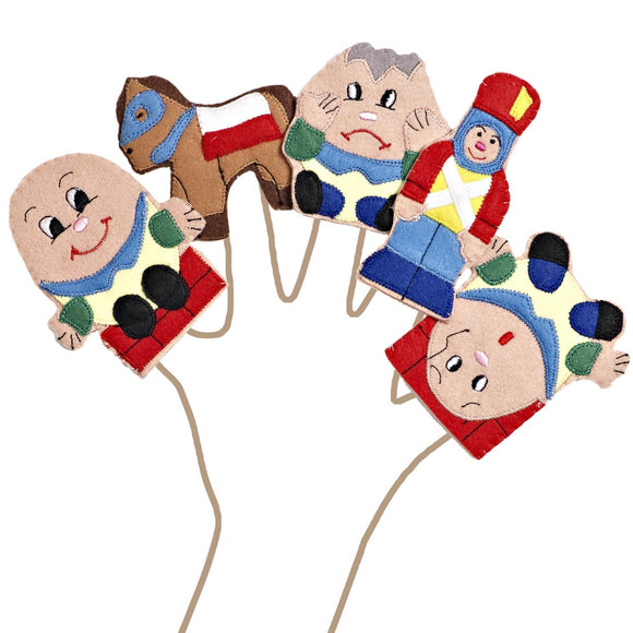 Humpty Dumpty Story Time Finger Puppet Set