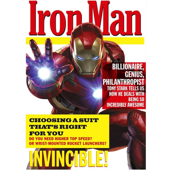 Iron Man Hallmark Birthday Card