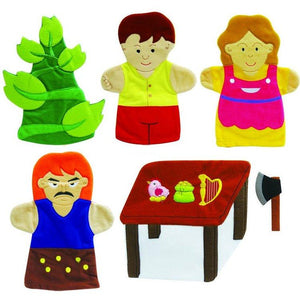 Jack And The Beanstalk Story Time Hand Puppet Set