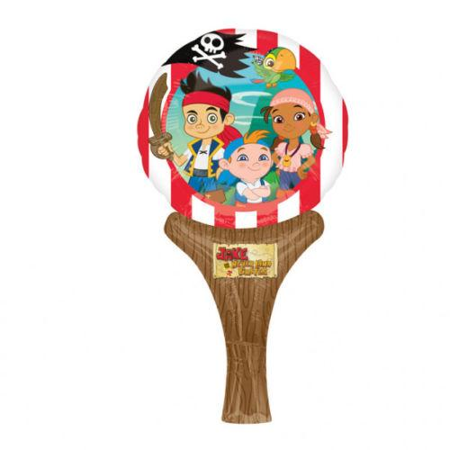 Pack of 5 Jake and The  Neverland Pirates Balloons - No Helium Required