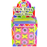 Box of 30 Noughts and Crosses Games Fundraising Toys Idea
