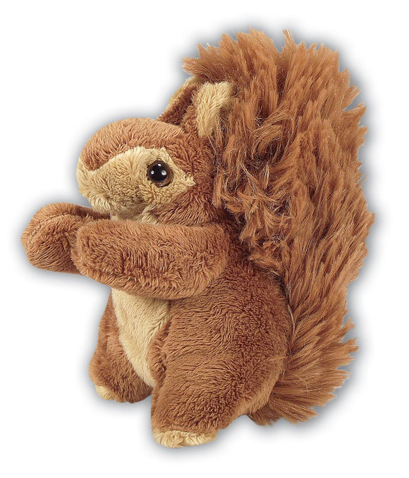 13cm Red Squirrel Cuddly Plush Toy