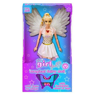 Magical Fairy Doll with Light Up Wings available in either colour