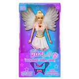 White Magical Fairy Doll with Light Up Wings