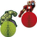 Marvel Avengers Honeycomb Party Decorations