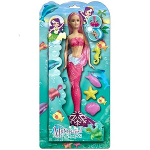 Mythical Mermaid Doll with accessories toy gift