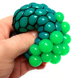 12 Squishy Mesh Ball Pocket Money Toy Party Bag Filler Fundraising Pack