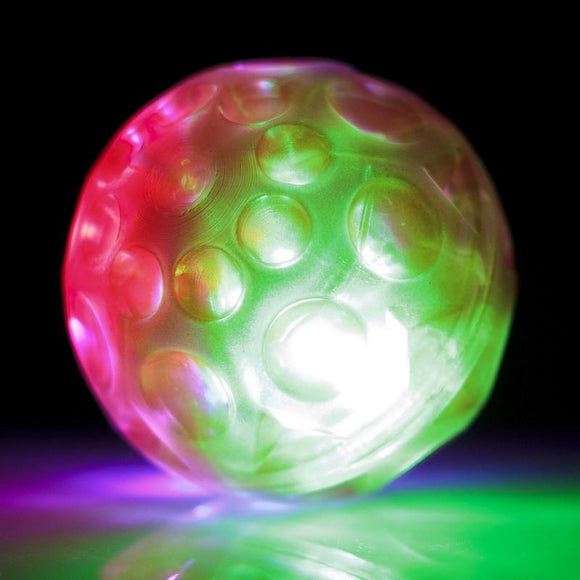 Flashing Meteor Ball Sensory Pocket Money Toy