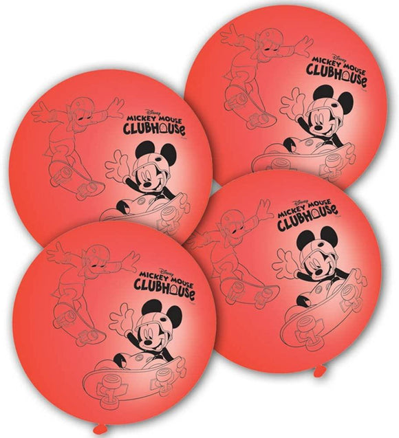 Mickey Mouse Punchball Balloons Party Favours