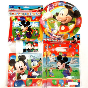 Mickey Mouse Party Pack for 10 People