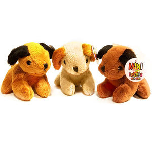 mini puppy cuddly soft plush toy suitable for all ages