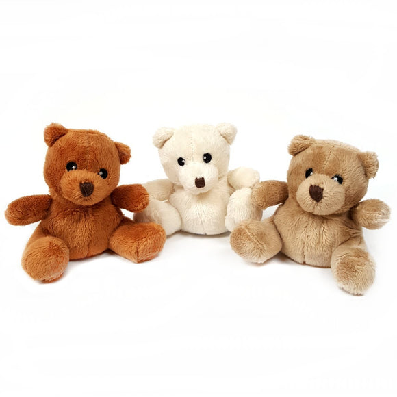 9cm Teddy Bear Cuddly Toys available in 3 colour's