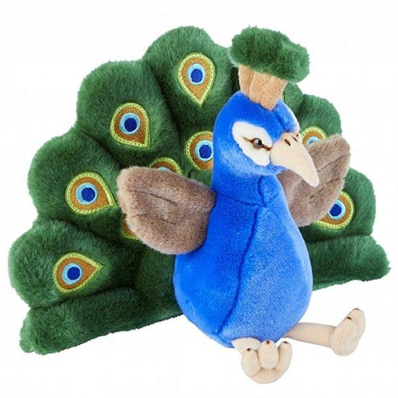 Peacock cuddly soft plush toy