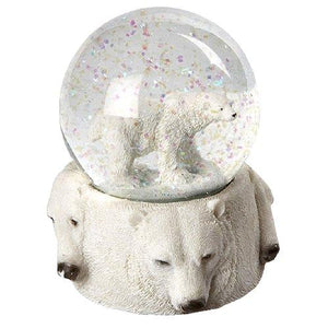 Polar Bear Snow Globe Gift Idea