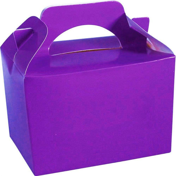 Purple Party Food Cake Gift Toy Favor Boxes