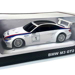 1/24 scale Radio Control BMW M3 GT2 toy car in white