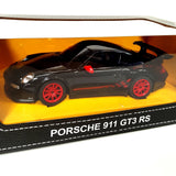 Black Remote Radio Control Porchase 911 GT3 RS 1/24 scale