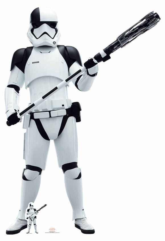 Executioner Trooper (The Last Jedi) Star Wars Lifesize Cutout