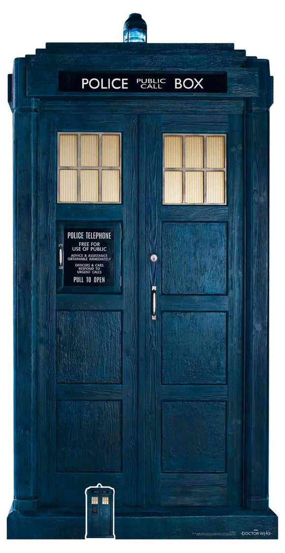 13th Doctor Who The Tardis (2/3 LIFE SIZE) |  Blue Frog Toys