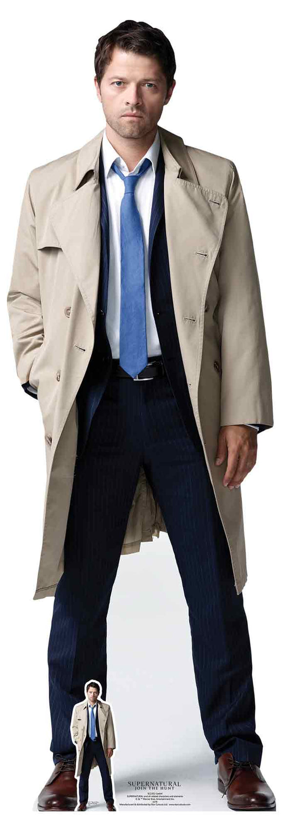 Castiel (Supernatural) Misha Collins lifesize cutout