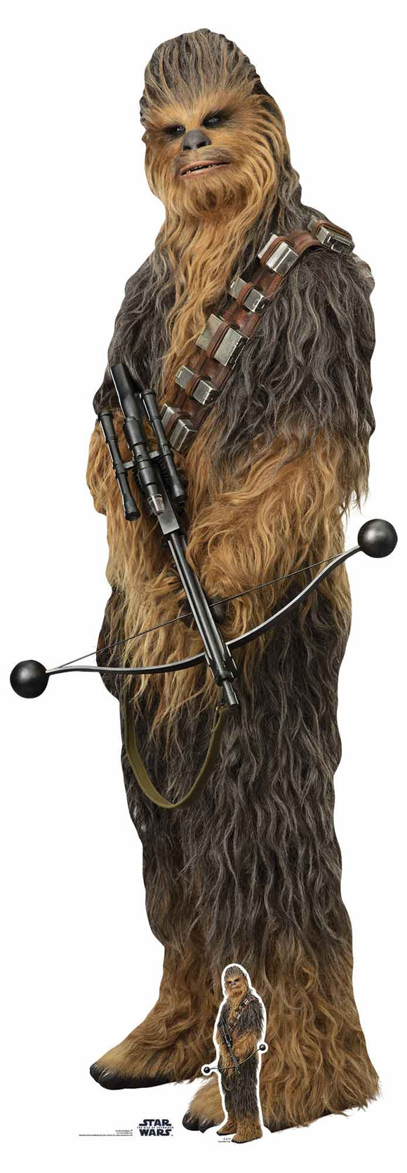 Star Wars Chewbacca Lifesize Cutout The Rise of Skywalker
